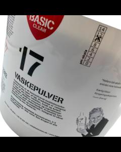 5 kg vaskepulver  - Fra BasicClean.dk