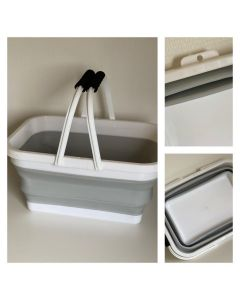 Lækker foldbar 12 liters gulvspand - Fra BasicClean.dk