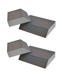Shine up klodsen er god til kalk på materialer der ikke tåler syre - Fra BasicClean.dk