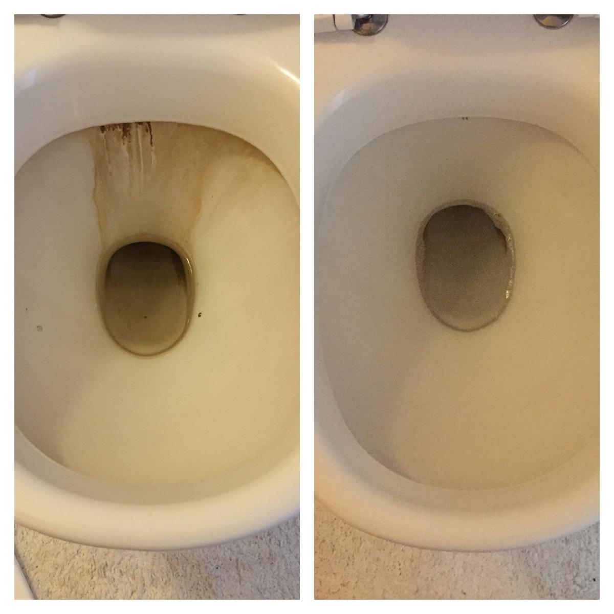 6c1ab637 Før og efter billede af toilet med mørke rander
